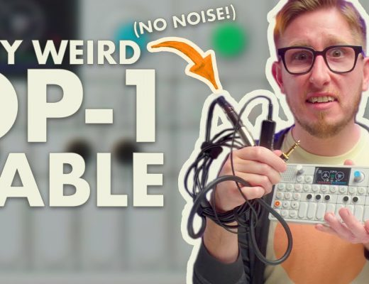 op-1 cable tutorial by brad tennant